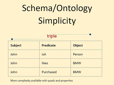 schema/ ontology simplicity