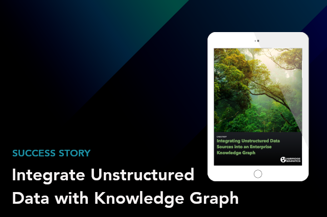 Integrating Unstructured Data with Knowledge Graph