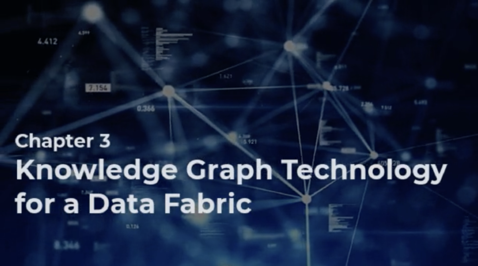Knowledge Graph Technology for a Data Fabric