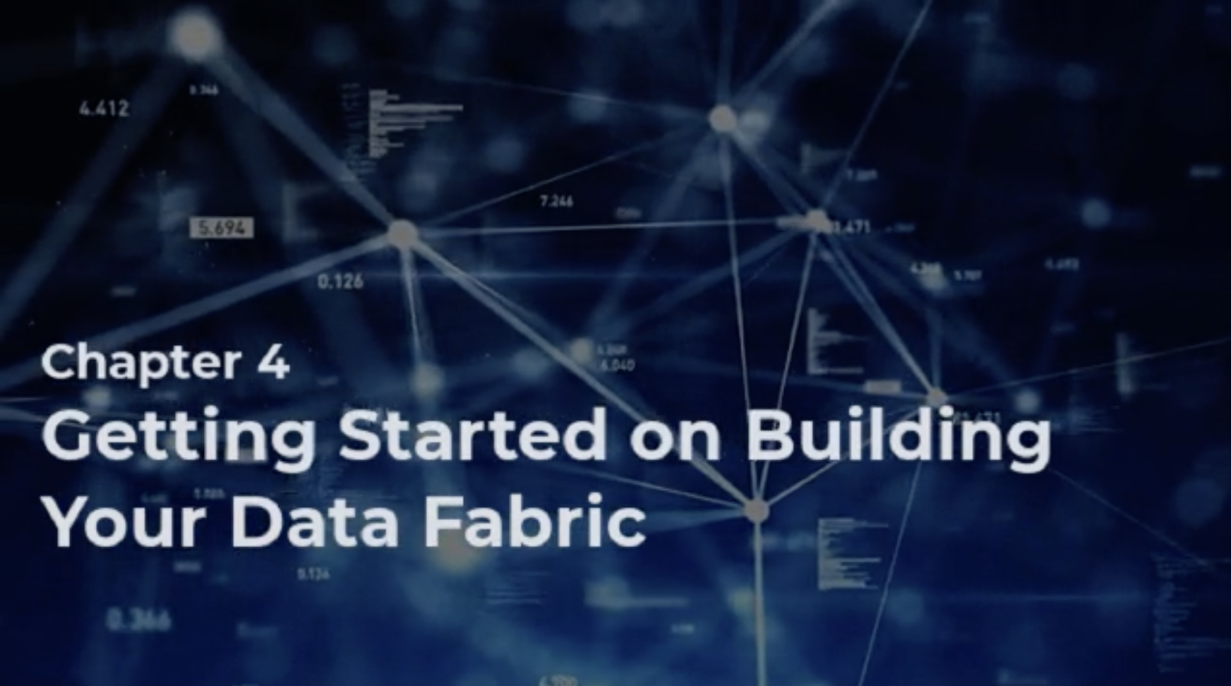 Getting Started on Building Your Data Fabric